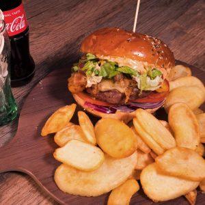 Chef Burger + ploške