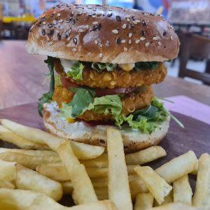 Tik Tok Burger + krumpirići